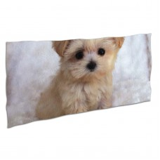 Cute Puppy (2) Soft,Compact,Lightweight,Quick Dry Absorbent,Large Sand Free Beach TowelsMicrofiber Towels Backpacking Quick Dry Camping,Superfine Fiber.