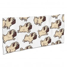 Cute Pugs Pug Dogs Soft,Compact,Lightweight,Quick Dry Absorbent,Large Sand Free Beach TowelsMicrofiber Towels Travel Towel Quick Dry Camping,Superfine Fiber.