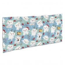 Cute Polar Bear Pattern Soft,Compact,Lightweight,Quick Dry Absorbent,Large Sand Free Beach TowelsMicrofiber Towels Sports Quick Dry Camping,Superfine Fiber.