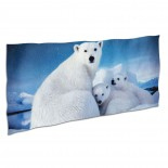 Cute Polar Bear Soft,Compact,Lightweight,Quick Dry Absorbent,Large Sand Free Beach TowelsMicrofiber Towels Backpacking Quick Dry Camping,Superfine Fiber.